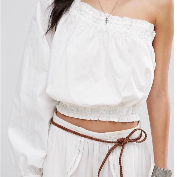 5f95e5722a0 Free People Tops | Asymmetrical One Shoulder Top | Poshmark